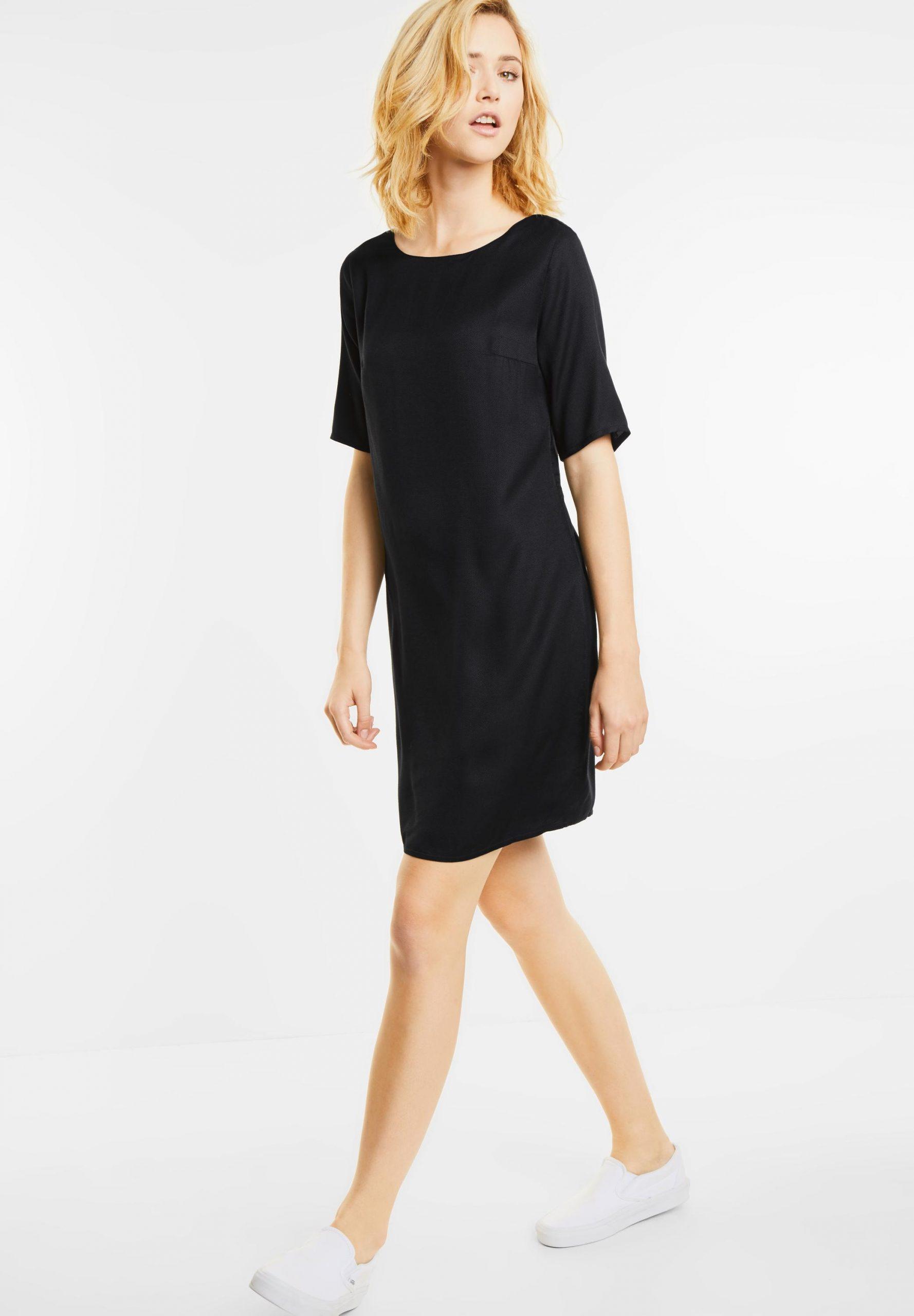 Kleid Mit Bändern Reilly In Black Von Street One Reduziert