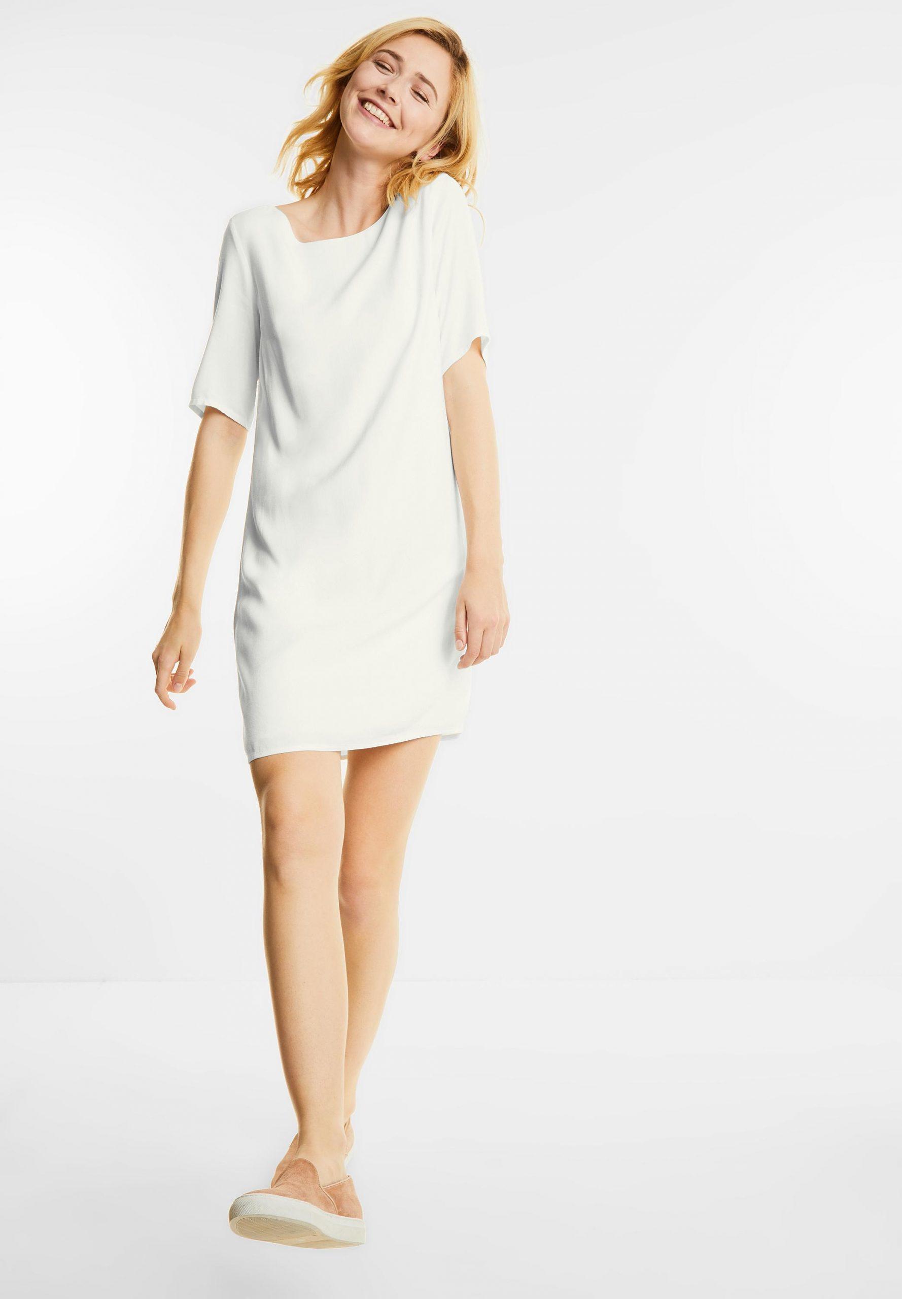 Kleid Mit Bändern Reilly In Off White Von Street One Im Sale