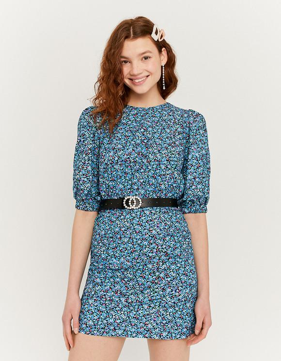 Kleid Mit Blumen Und Puffärmeln  Tally Weijl Online Shop