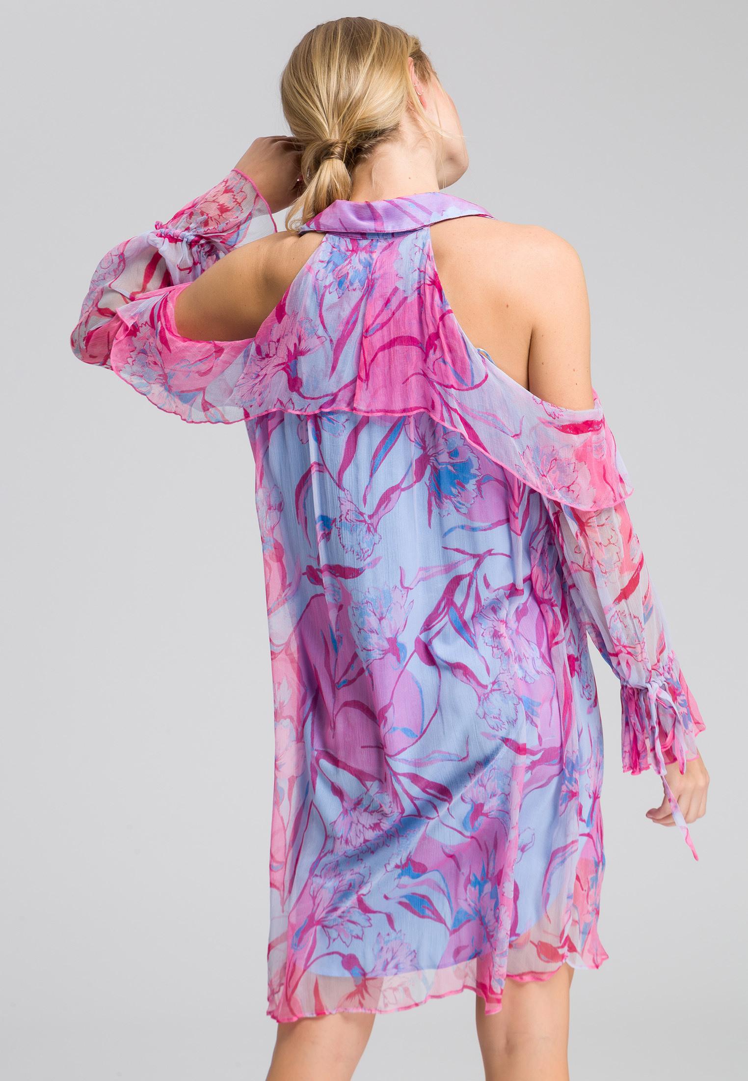 Kleid Mit Blumenmuster  Kleider  Röcke  Sale