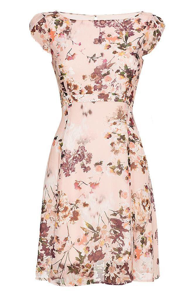 Kleid Mit Blumenmuster  Vestidos