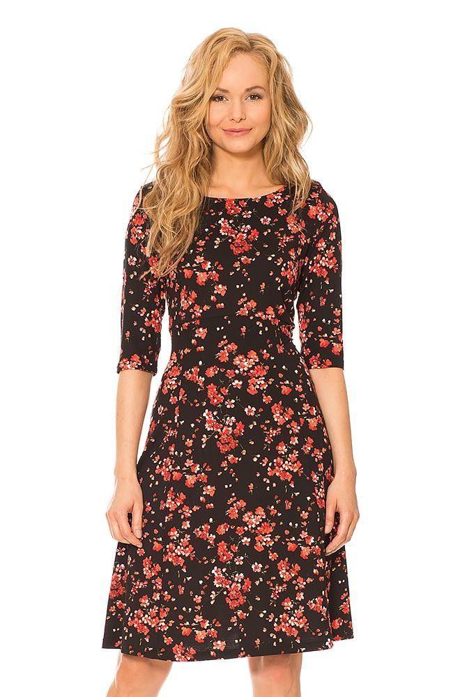 Kleid Mit Blumenprint  Kleider Kleider Damen Orsay Kleider