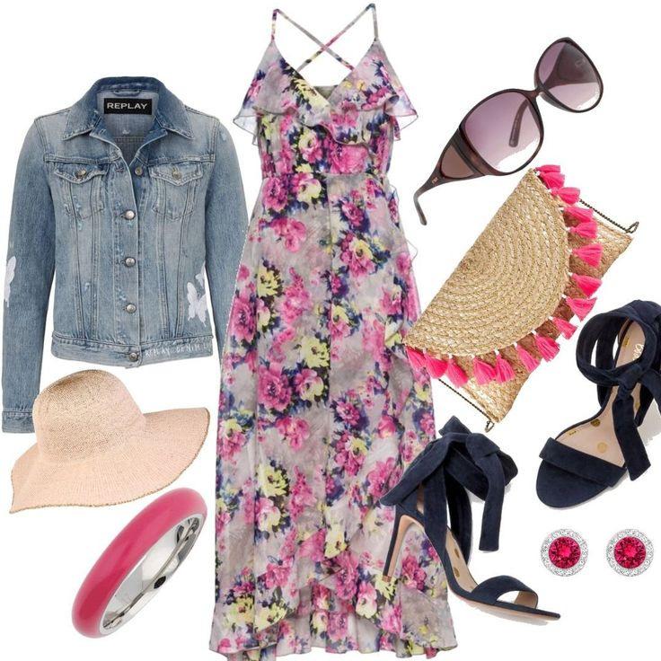 Kleid Mit Blumenprint Ohne Ärmel Für Damen Zum Nachshoppen