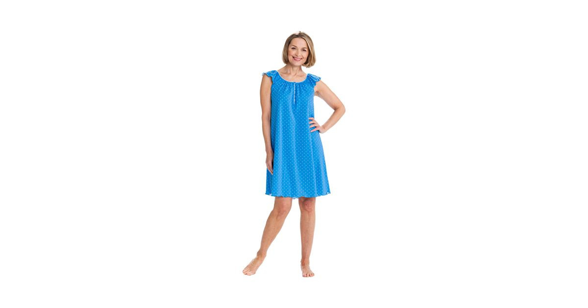 Kleid Mit Flügelärmel Gepunktet Online Kaufen  Die