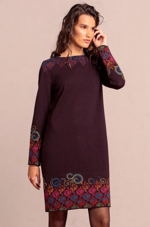 Kleid Mit Intarsienmuster  Kleider  Ivko Woman
