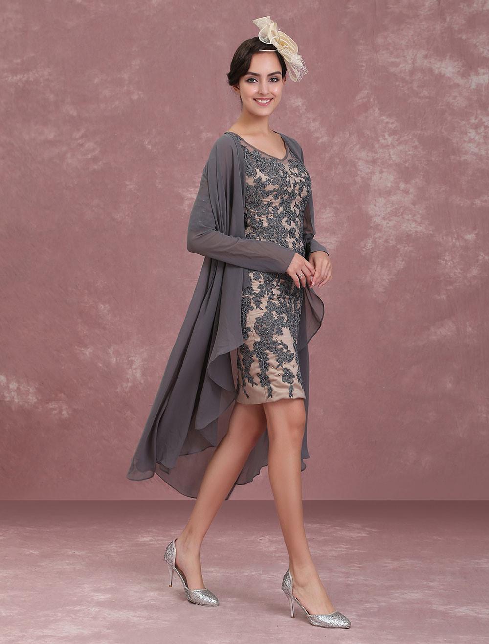 Kleid Mit Jacke Hochzeit  Stylische Kleider Für Jeden Tag