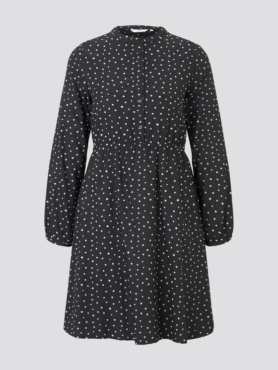 Kleid Mit Knopfleiste  Von Tom Tailor