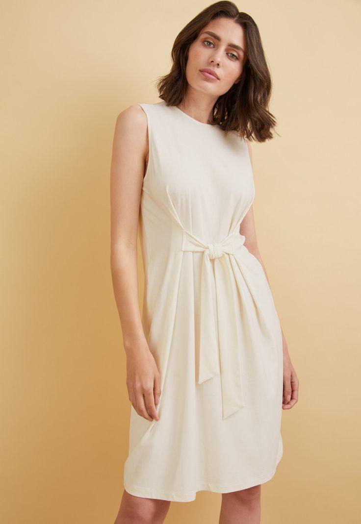 Kleid Mit Knoten  Kleider  Kleider Und Overall