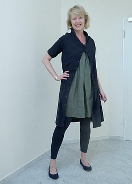 Kleid Mit Leggings