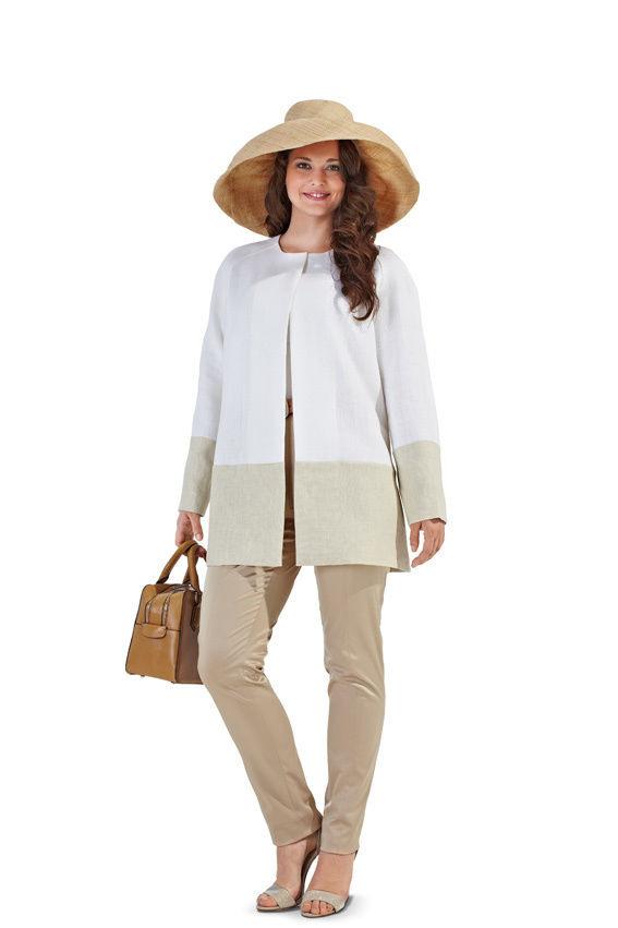 Kleid Mit Mantel F/S 2013 7102 Schnittmuster  Mode Zum