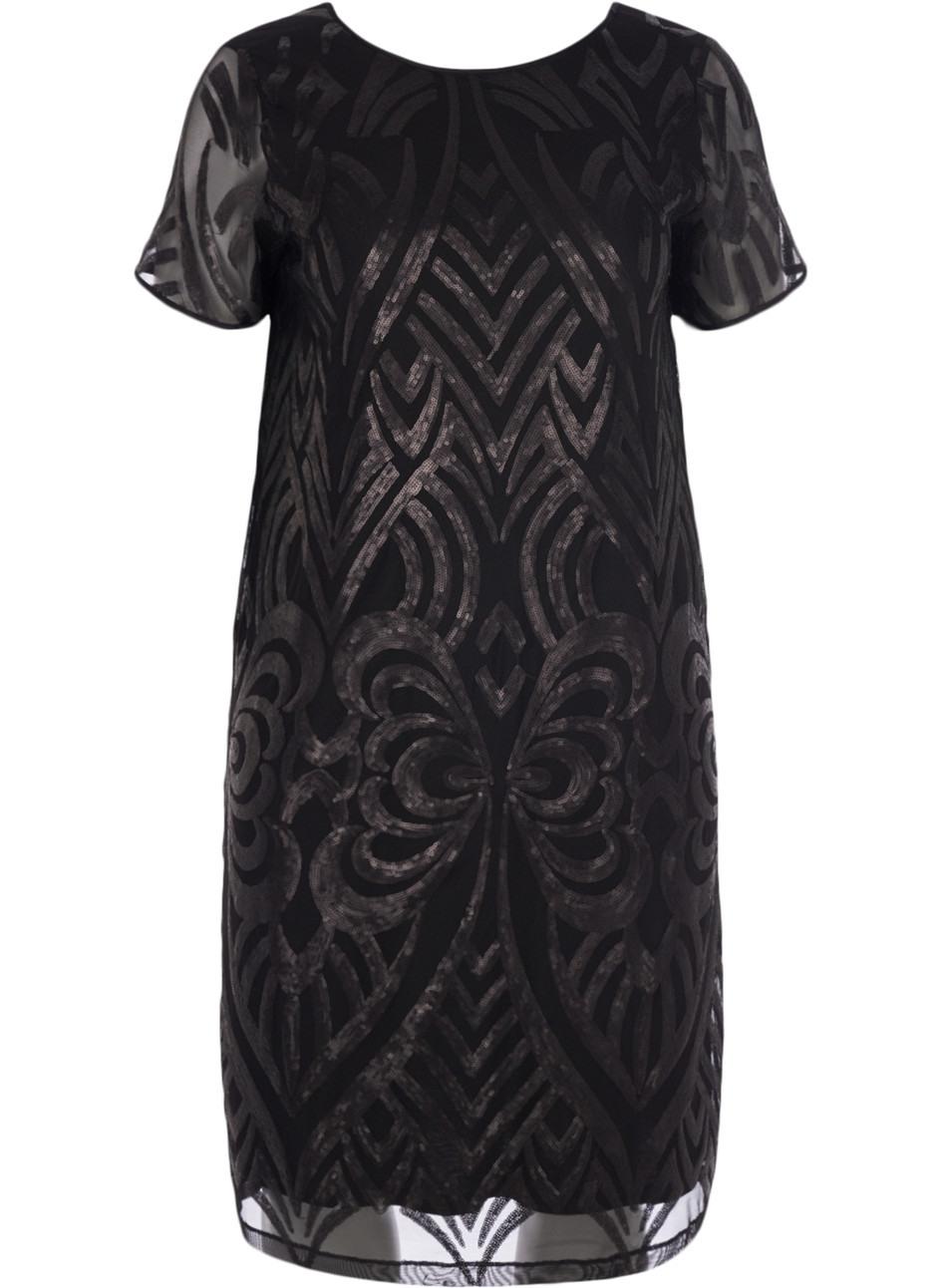 Kleid Mit Pailletten  Größe 4256 Online Kaufen Auf Zizzide  Zizzide