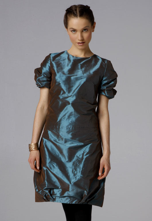 Kleid Mit Puffärmel Fashionline508Cdl Schnittmuster