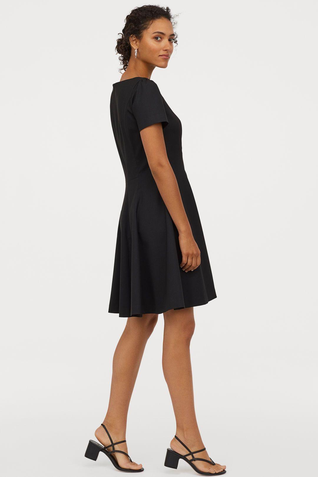 Kleid Mit Puffärmeln  Kleidung Kleidung Brautmutter Und