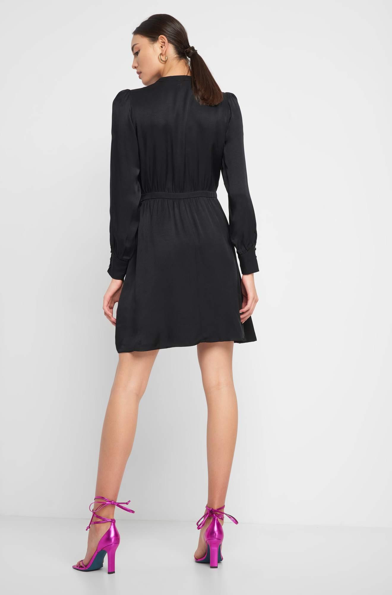 Kleid Mit Puffärmeln  Orsay