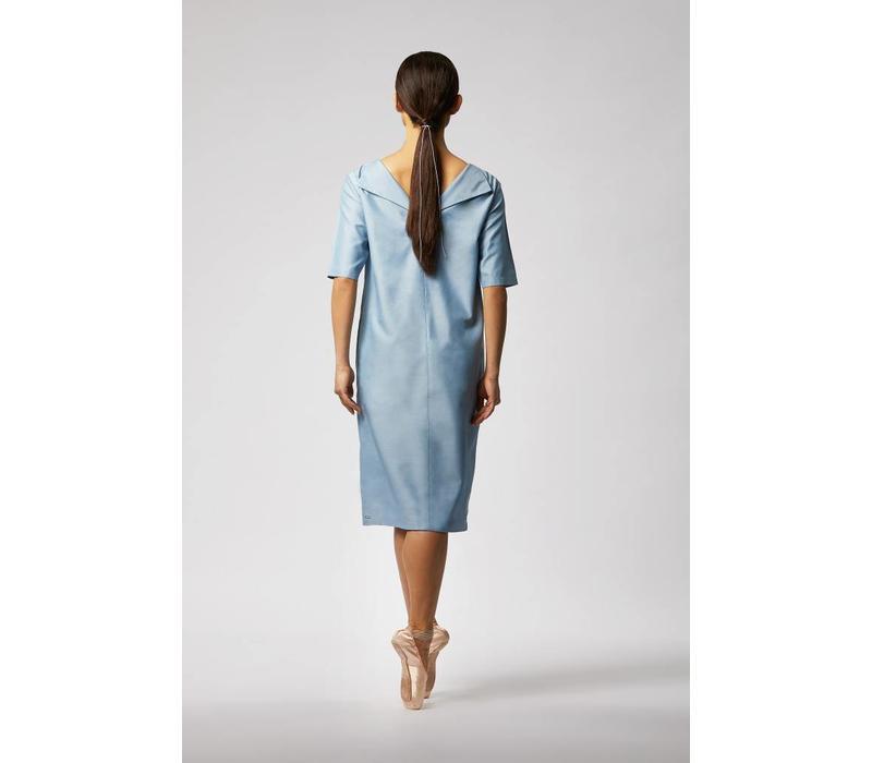 Kleid Mit Rückenausschnitt Aus Tencel Von Luxaa  Luxaa