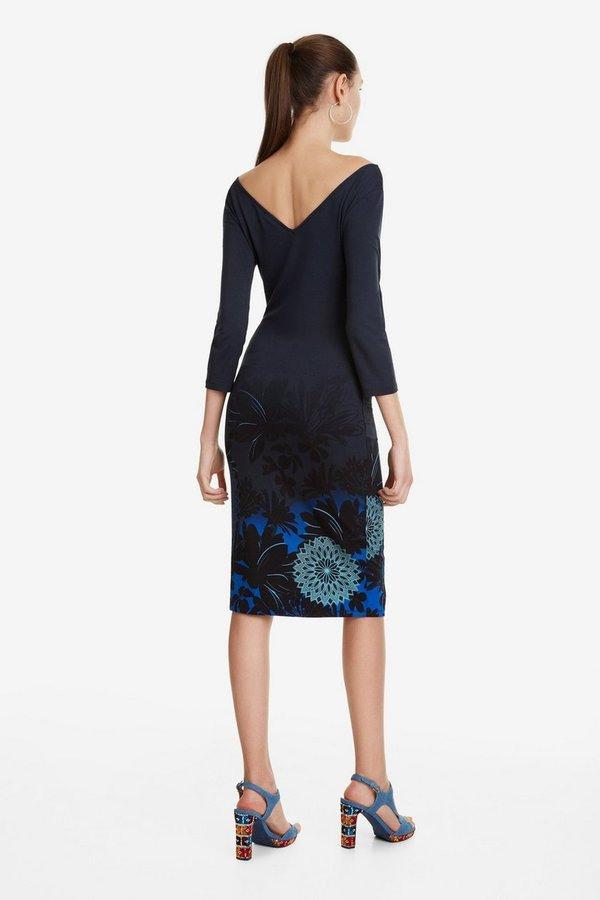 Kleid Mit Rückenausschnitt Florencia Von Desigual Ansehen