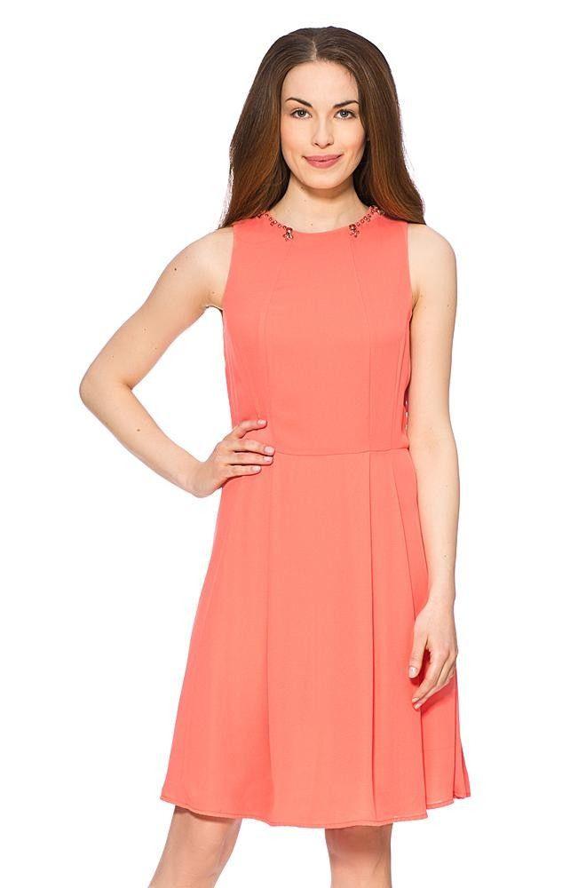 Kleid Mit Schmucksteinen  Kleider  Bekleidung  Clothes