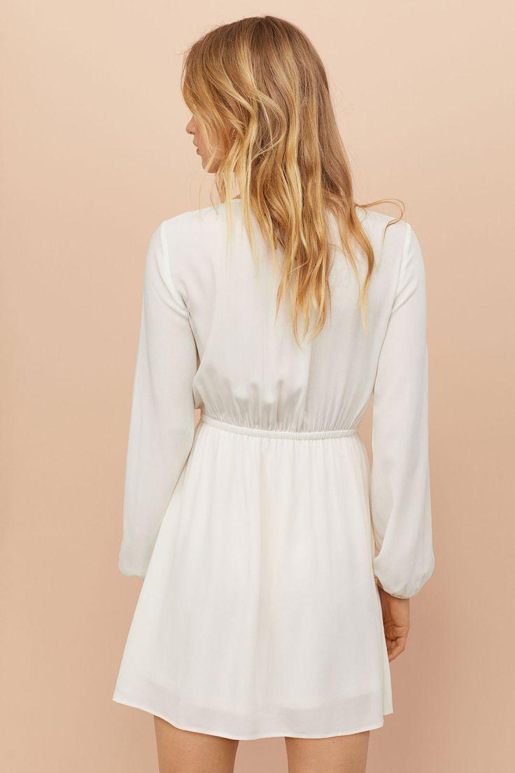 Kleid Mit Spitzenborten  Kleid Spitze Kleider Hm Und
