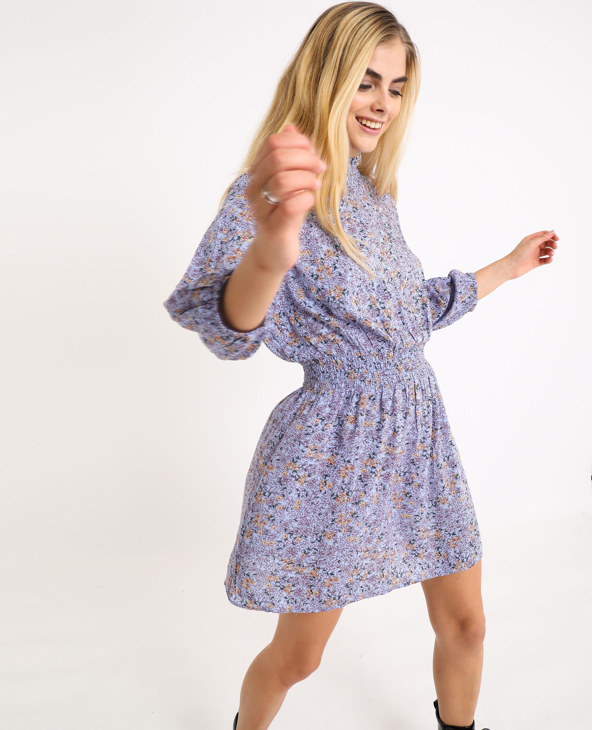Kleid Mit Stehkragen Blau 70  781487B20E00  Pimkie