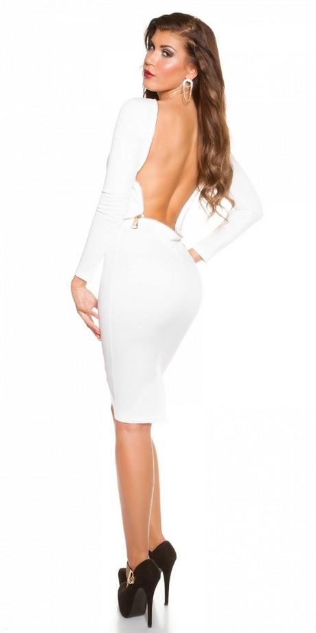 Kleid Mit Tiefem Rueckenausschnitt