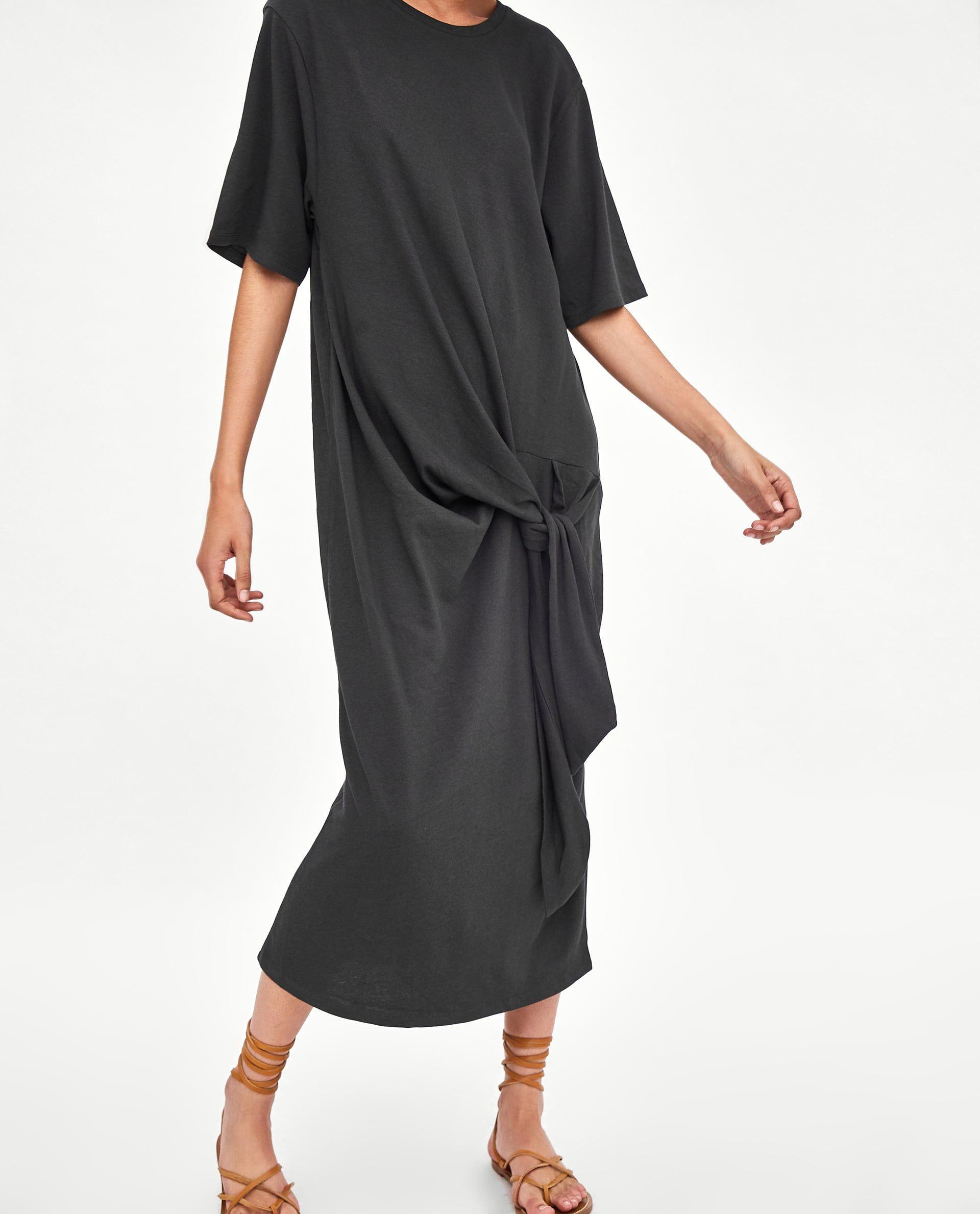 Kleid Mit Zierknoten  Modestil Kleider Reife Mode
