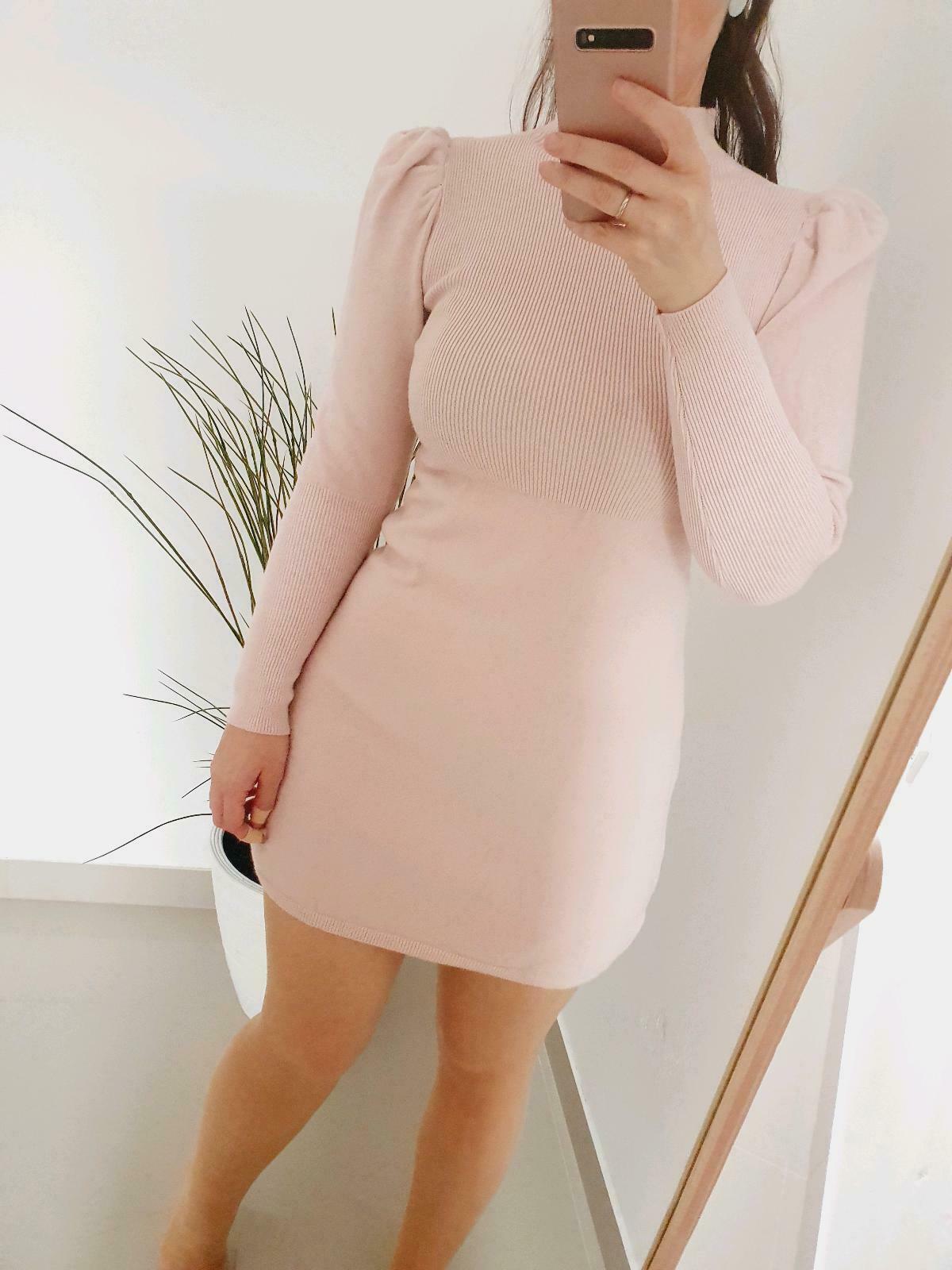 Kleid Puffärmel Strickkleid In Sachsen  Chemnitz  Ebay
