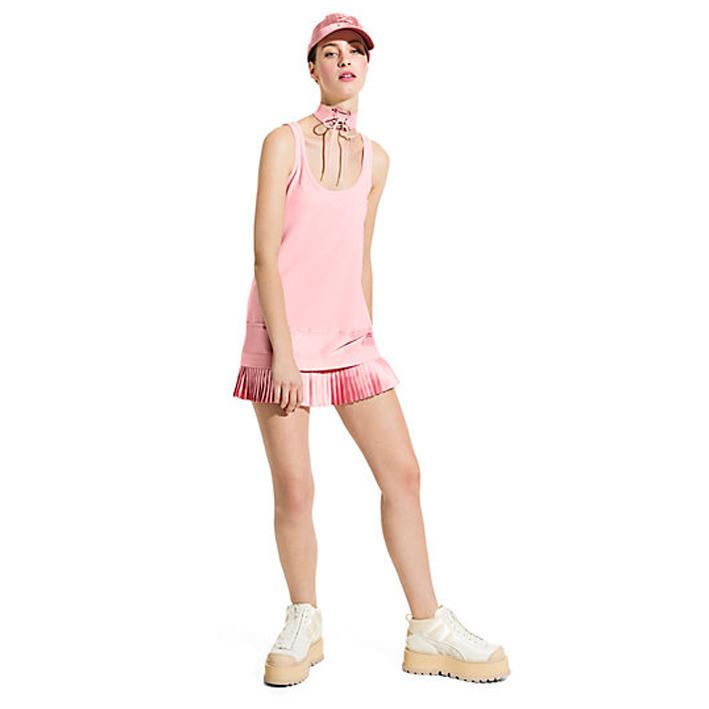 Kleid Puma X Fenty Rihanna Pleated Hem 574261 01  Rosa