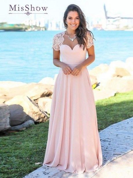 Kleid Rosa Hochzeit