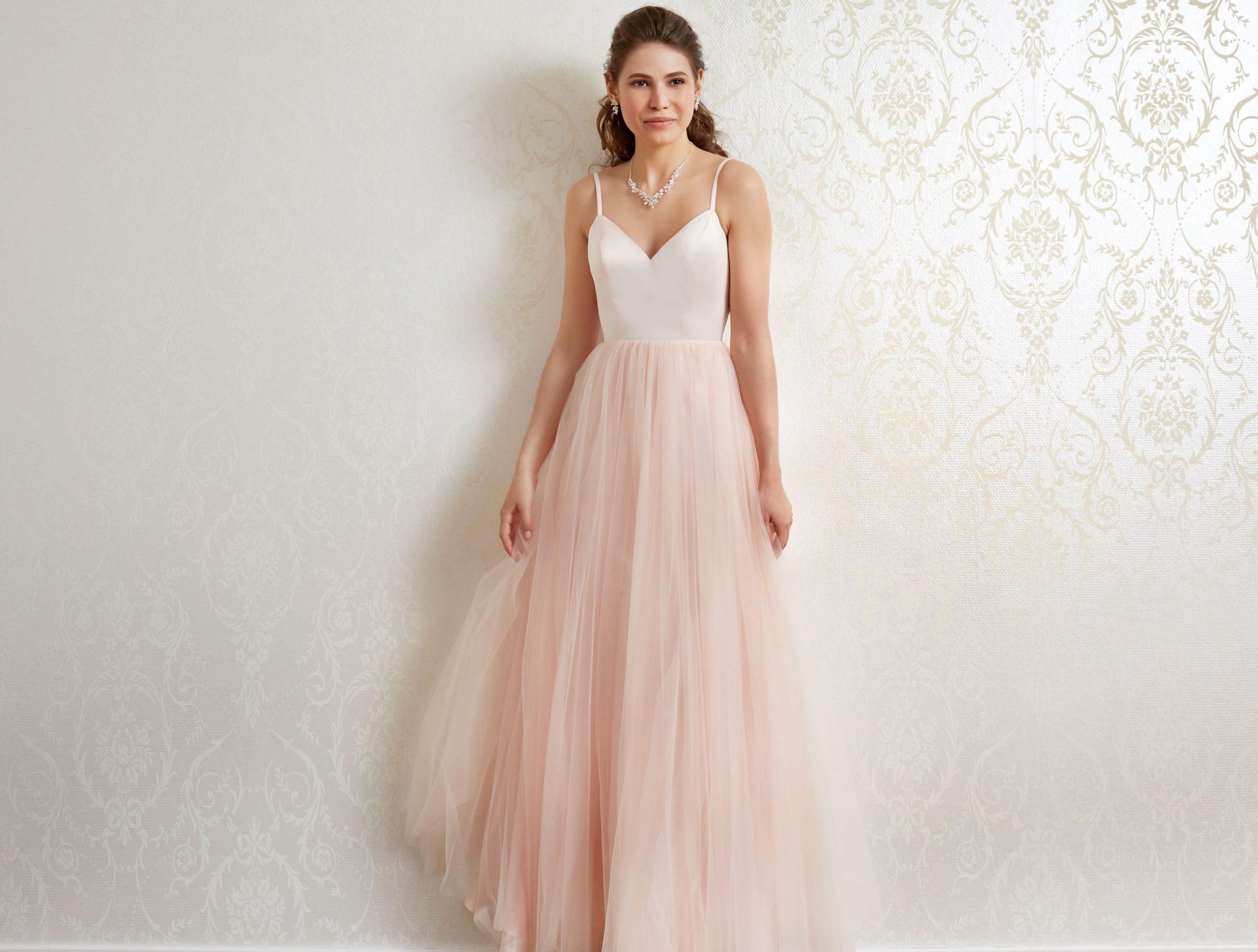 Kleid Rosa  Kleider Kleid Hochzeit Brautmode