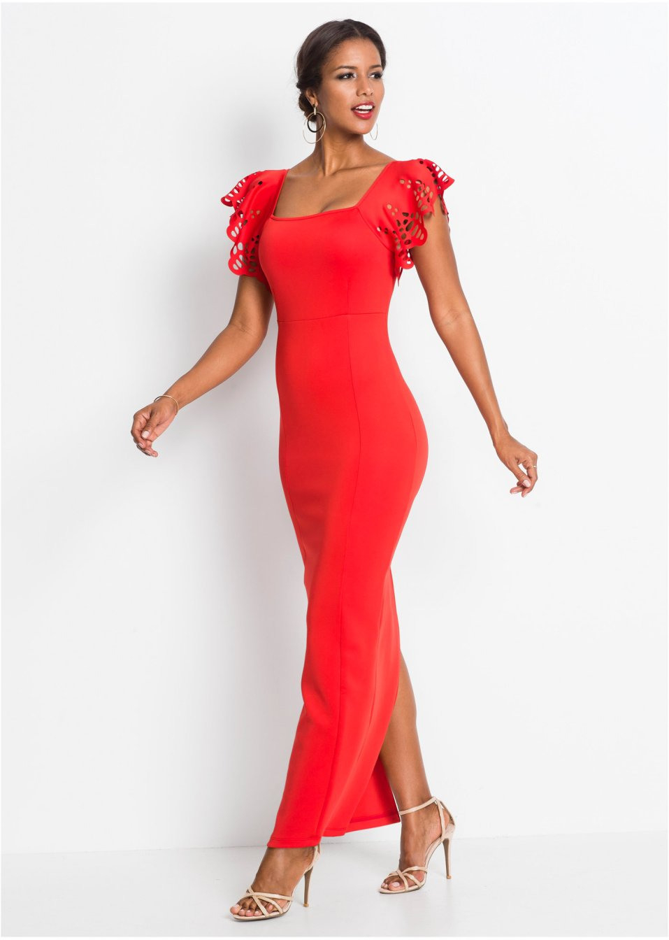 Kleid Rot  Damen  Bodyflirt Boutique  Bonprixat