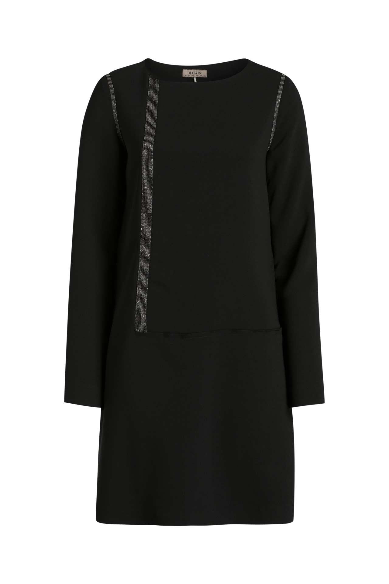 Kleid Schwarz  Malvin » Günstig Online Kaufen