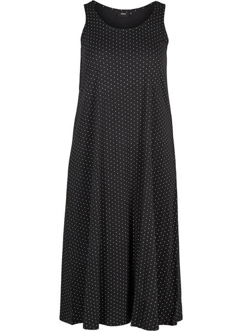 Kleid  Schwarz  Str 4256  Zizziat