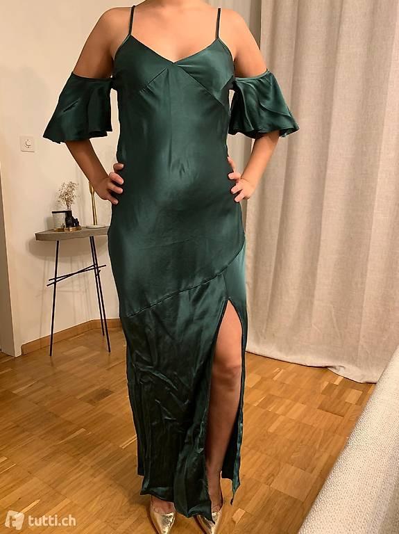 Kleid Seide Grün In Basel Kaufen  Tuttich