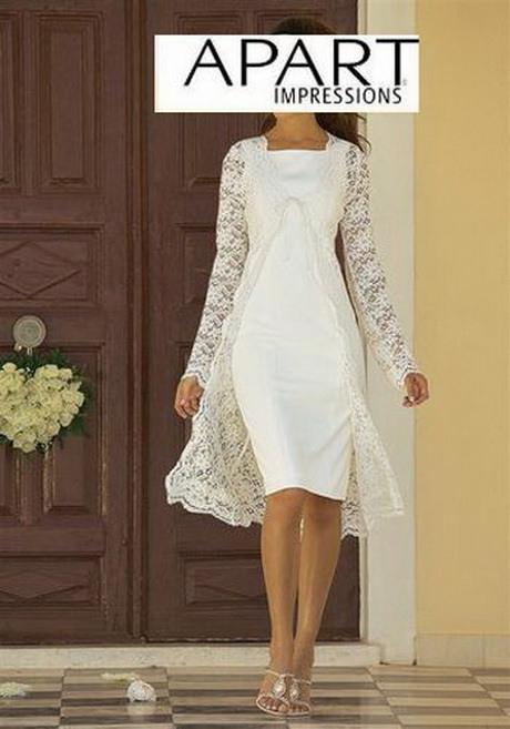 Kleid Standesamt Winter