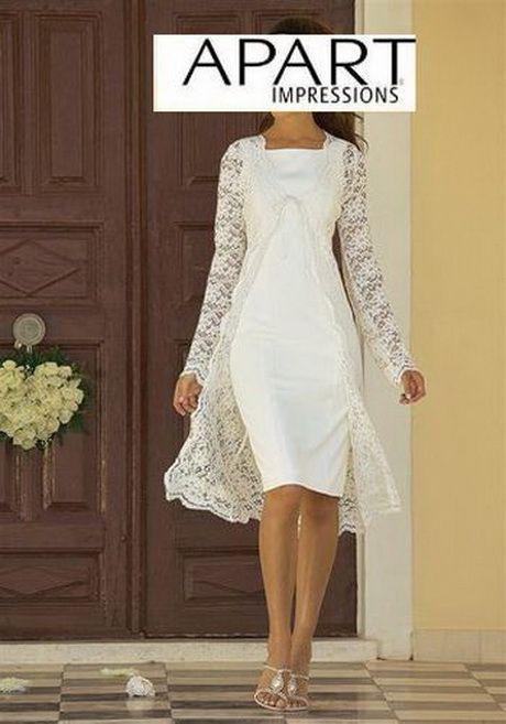 Kleid Standesamt Winter  Hochzeit Kleid Standesamt