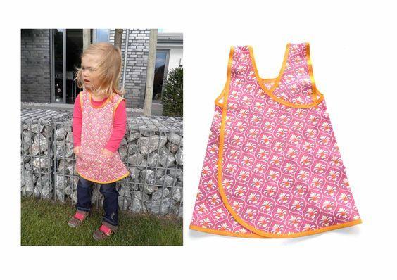 """Kleid Tunika Für Kinder Nähen Kittelkleid """"Flora"""