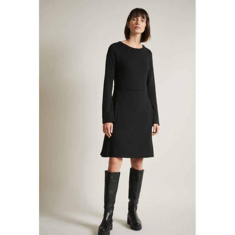 Kleid Von Lanius In Schwarz  Jetzt Bei Vivendi Frauenmode