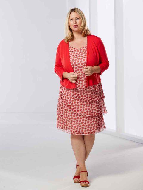 Kleid Von Samoon 00036590  Jetzt Online Bestellen Bei Mode 58