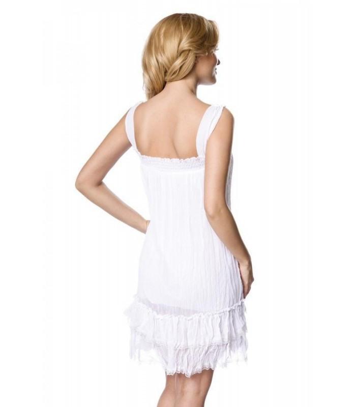 Kleid Weiß  At13921  Fashionmoon