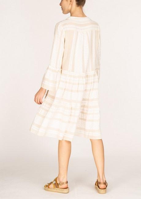 Kleid Weiß Baumwolle