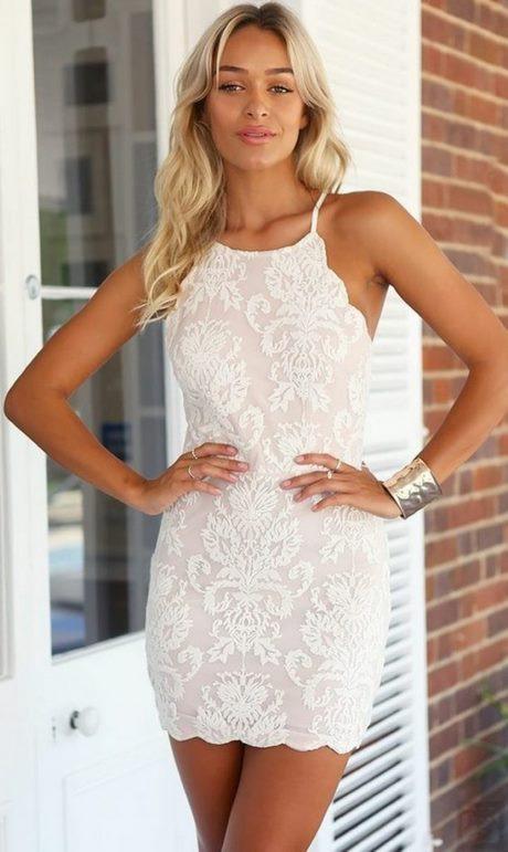 Kleid Weiß Eng