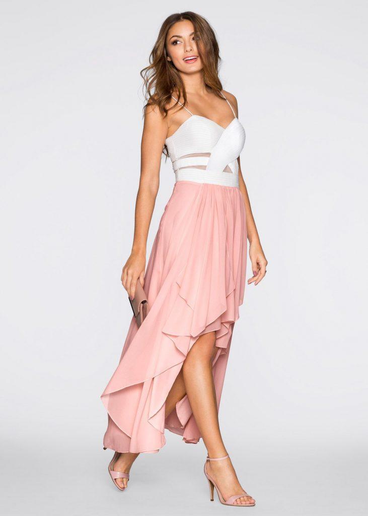 Kleid Weiß/Rosa  Bodyflirt Jetzt Im Online Shop Von
