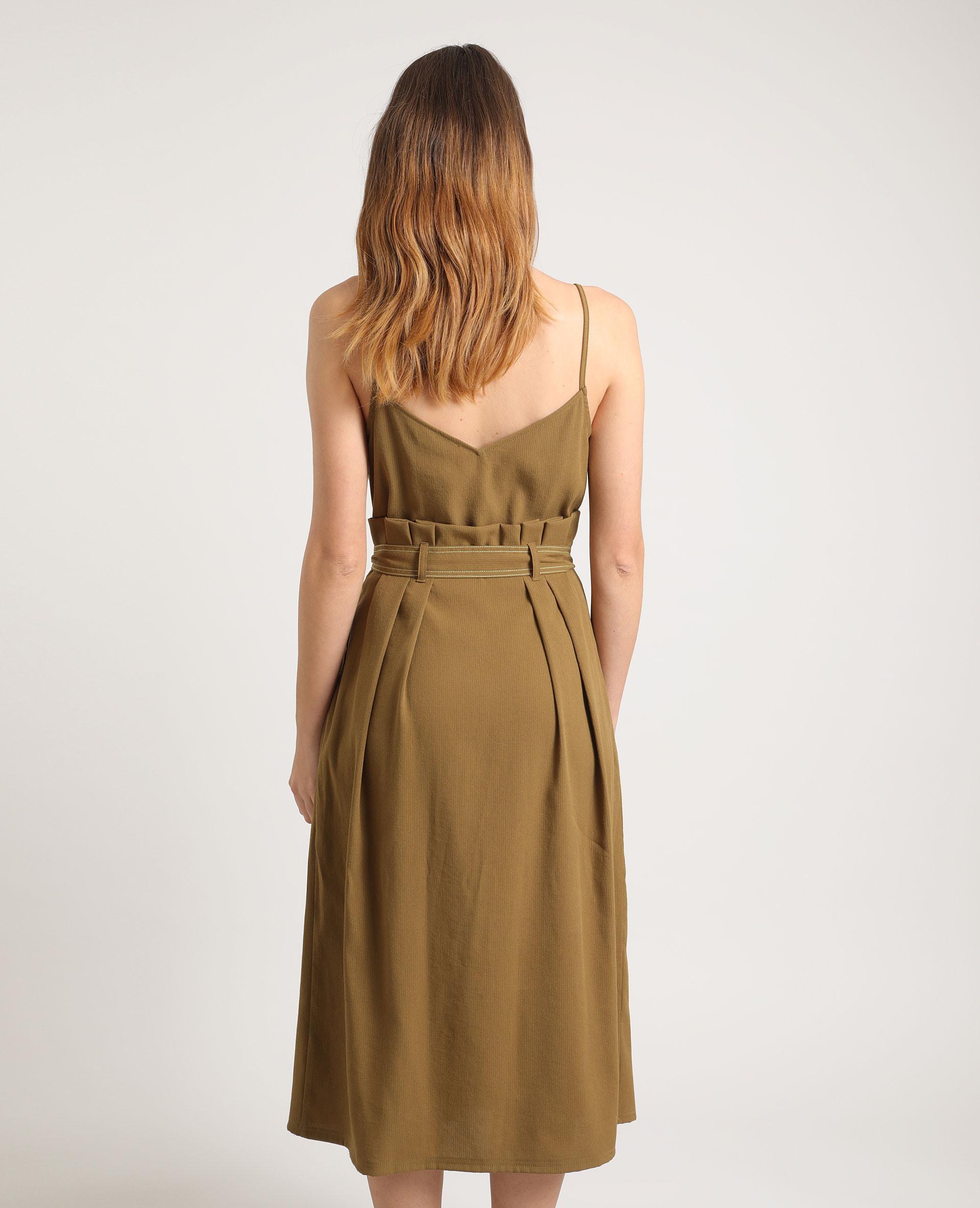 Kleid Zum Binden Khaki  781276C37A05  Pimkie