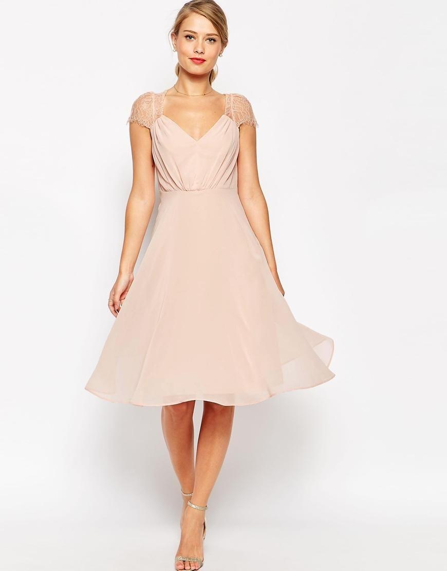 Kleider Fuer Hochzeit Als Gast  Stylische Kleider Für