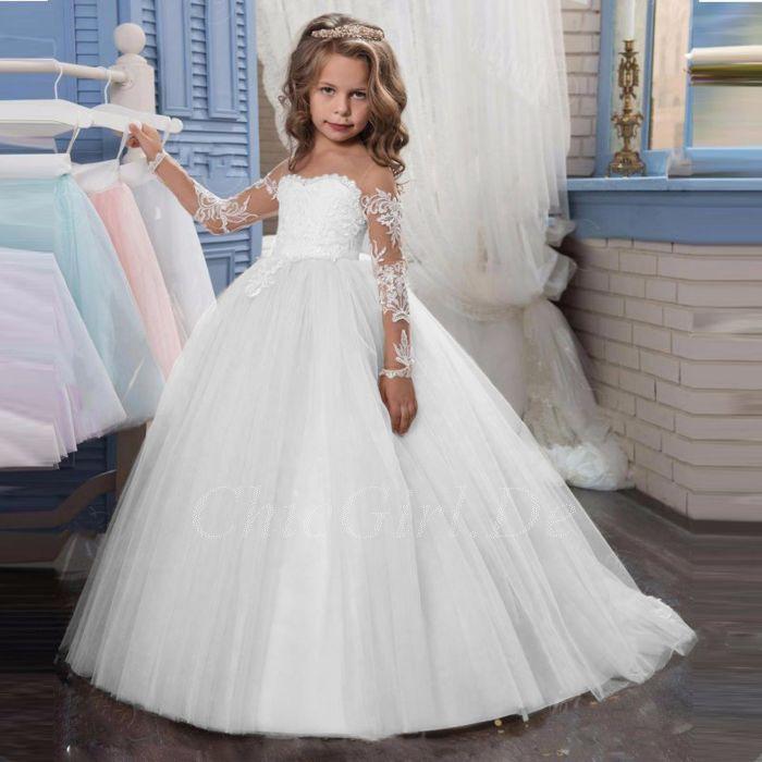 Kleider Für Blumenmädchen Hochzeit / Blumenmadchenkleider