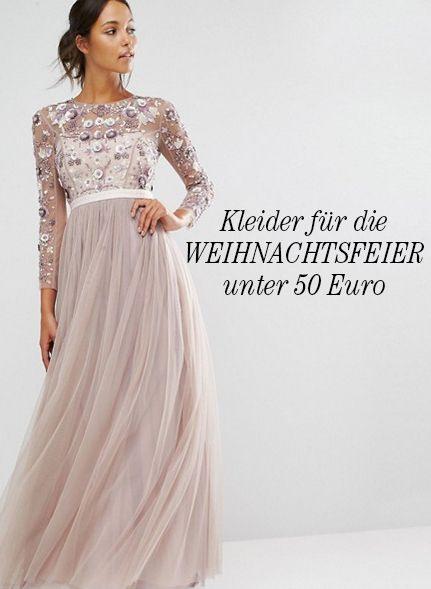 Kleider Für Die Weihnachtsfeier Oder Weihnachten Unter 50