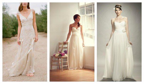 Kleider Für Eine Glamouröse Landhausstil Hochzeit