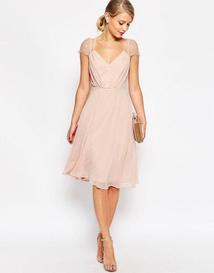 Kleider Für Hochzeit Als Gast Rosa In 2020  Kleid