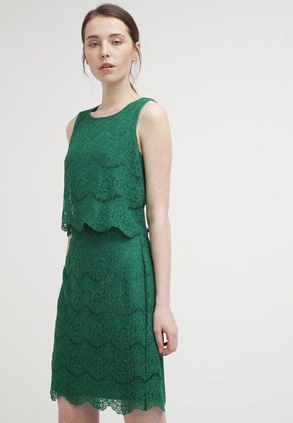 Kleider Für Hochzeitsgäste Grünes Spitzenkleid  Kleider