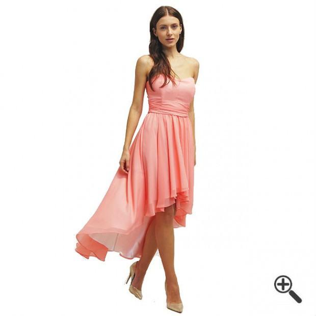 Kleider Hinten Lang Vorne Kurz Rosa  Kleider Günstig